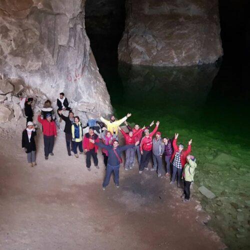 تور غار نمکی گرمسار